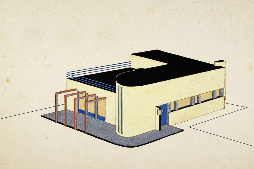 Carl Fieger. From Bauhaus to Bauakademie
