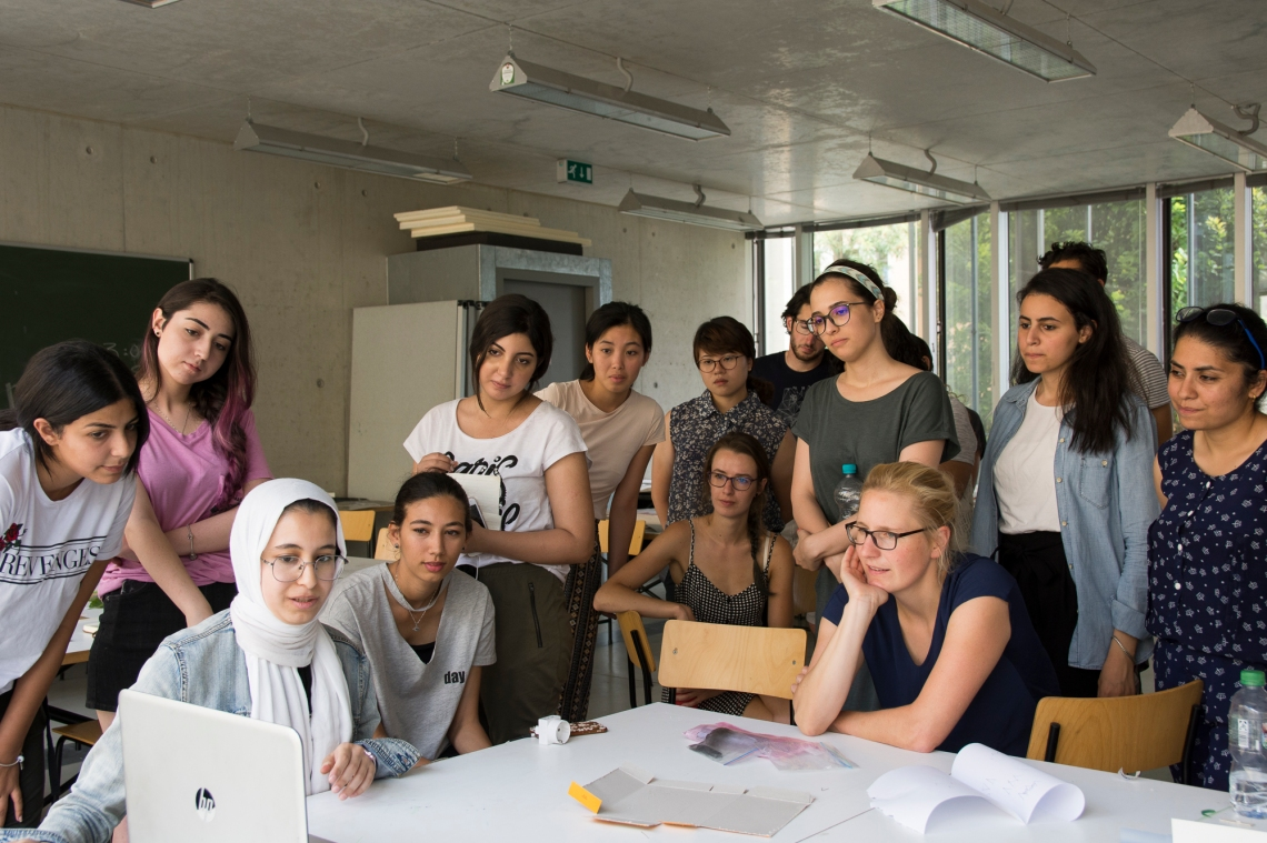 Bauhaus Summer School Course. Picture by Anna Perepechai